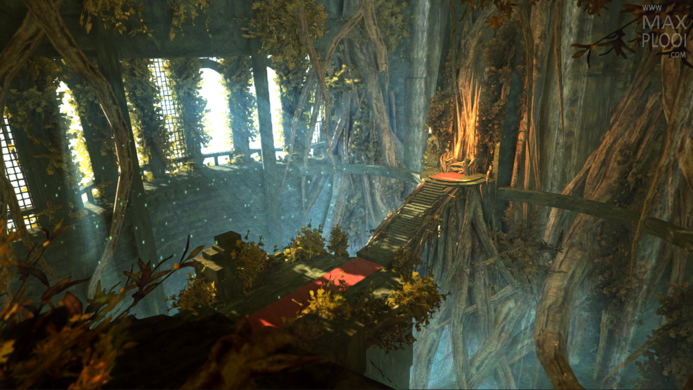 Overgrown Throne Room